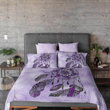 Namaste Dreamcatcher Purple Quilt Cover Set
