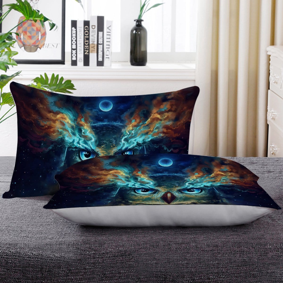 Night Nebowla Pillow Cases-Little Squiffy