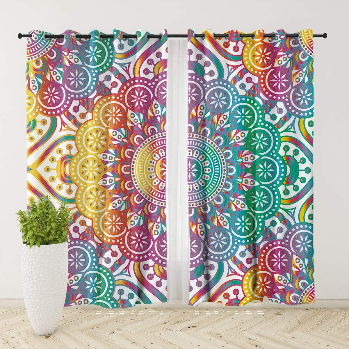 Madness Mandala Curtain Set