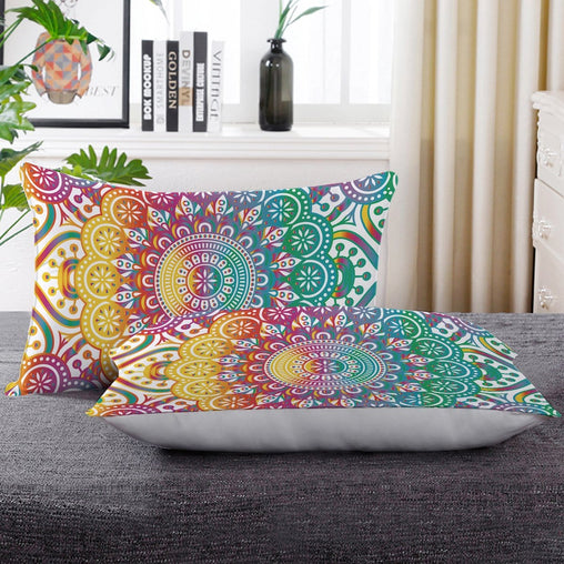 Madness Mandala Pillow Cases-Madness Mandala-Little Squiffy