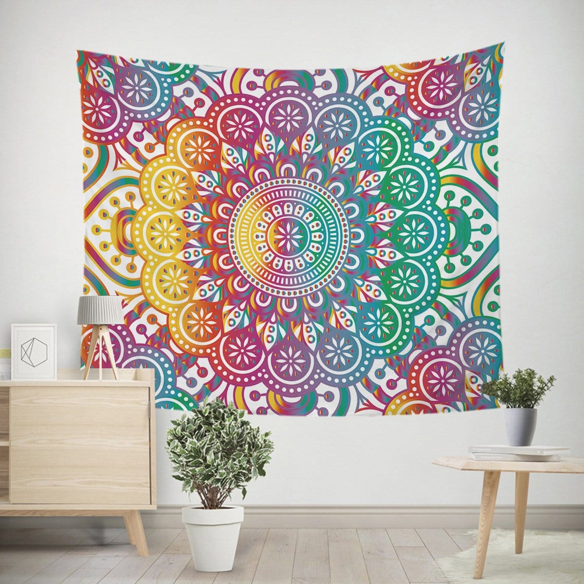 Madness Mandala Tapestry-Madness Mandala-Little Squiffy
