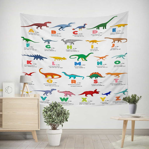 ABC Dinosaur's Tapestry-Little Squiffy