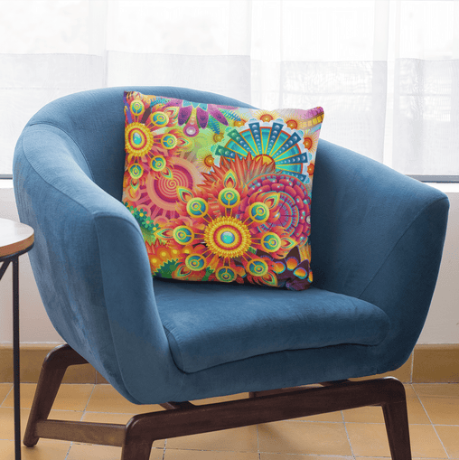 Dizzy Ziggy Cushion Cover