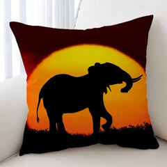 African Sunset Cushion Cover