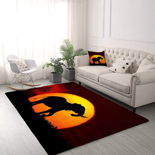 African Sunset Rug-Little Squiffy