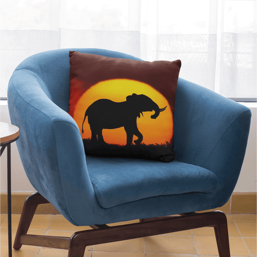 African Sunset Cushion Cover - On Sale-On Sale-Little Squiffy