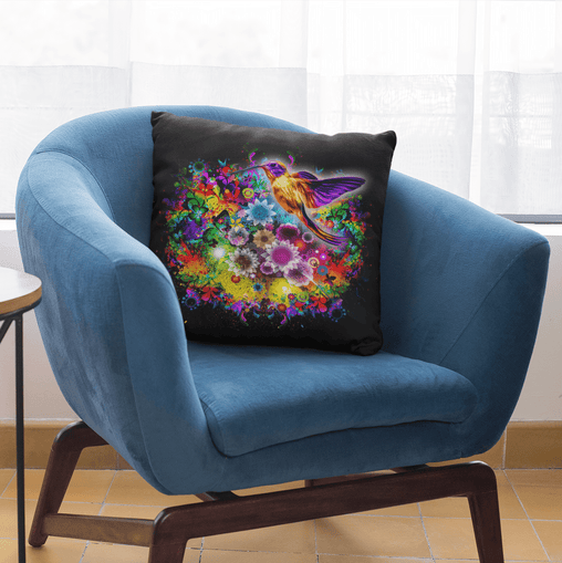 Humming Bird Cushion Cover