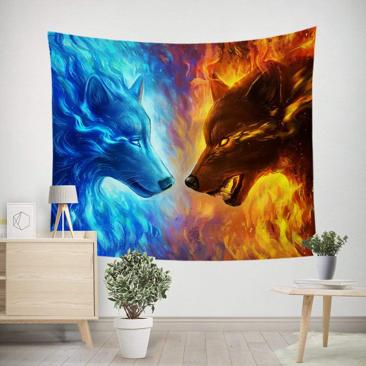 Fire and Ice Tapestry-Little Squiffy