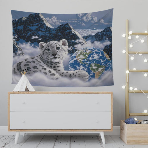 Bed Of Clouds Tapestry-Schim Schimmel-Little Squiffy