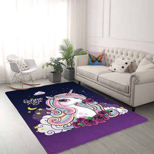 Believe In Magic Unicorn Mat-Believe In Magic Unicorn-Little Squiffy