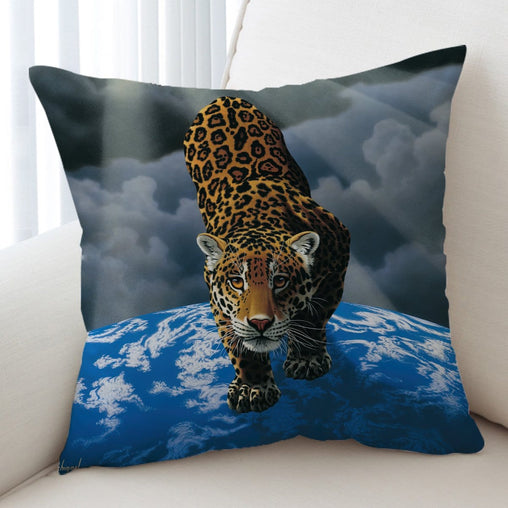 Between Heaven And Earth Cushion Cover-Schim Schimmel-Little Squiffy
