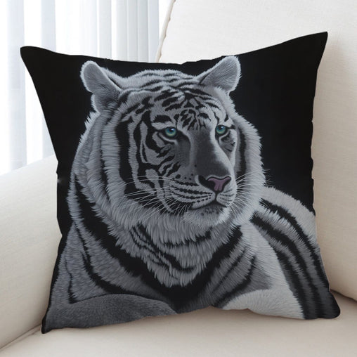 Blue Eyes Cushion Cover-Schim Schimmel-Little Squiffy