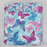 Pastel Butterflies Quilt Cover Set