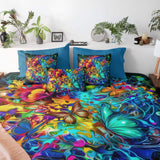Butterfly Burst Quilt Cover Set