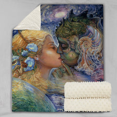 Cosmic Kiss Deluxe Minky Blanket-Josephine Wall-Little Squiffy