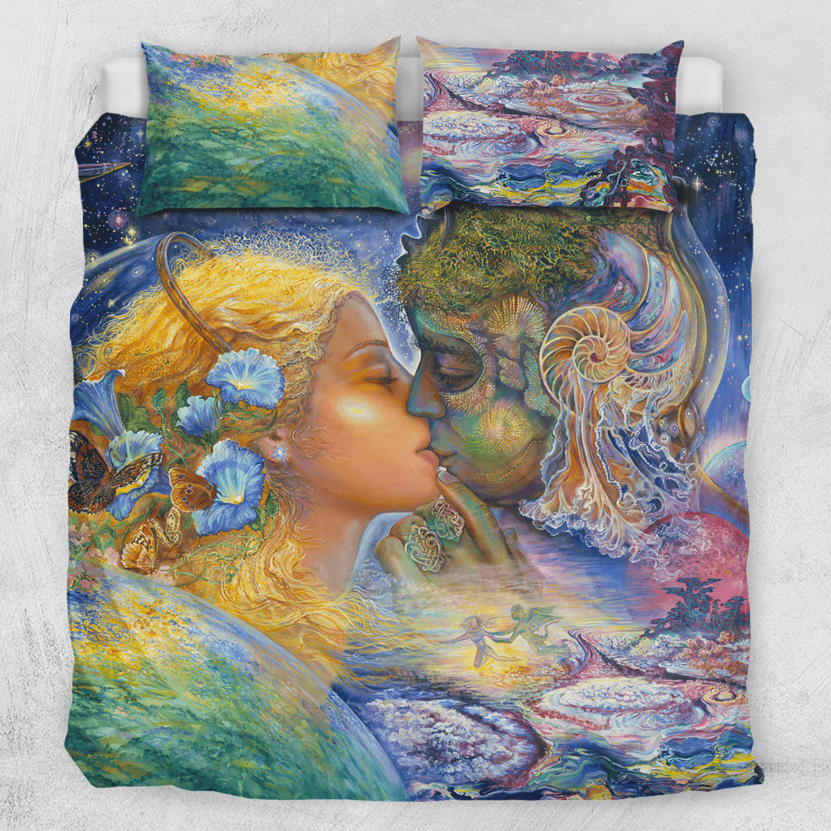 Cosmic Kiss Quilt Cover Set-Josephine Wall-Little Squiffy
