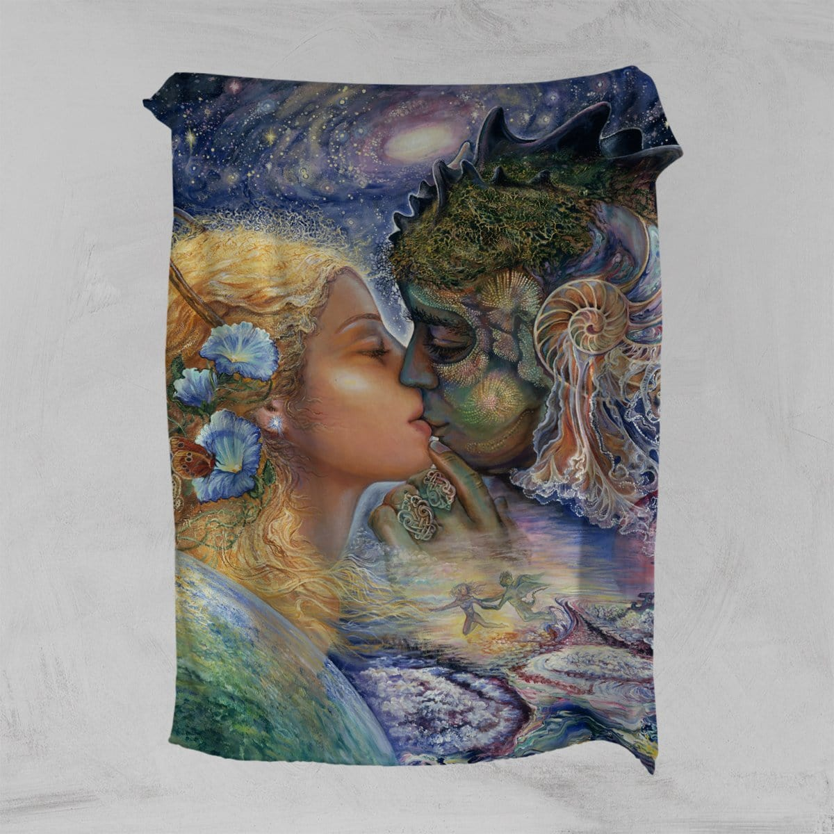 Cosmic Kiss Squiffy Minky Blanket-Josephine Wall-Little Squiffy
