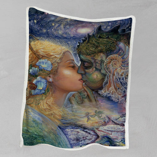 Cosmic Kiss Blanket-Josephine Wall-Little Squiffy