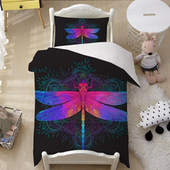 Dragonfly Quilt Cover Set-Little Squiffy