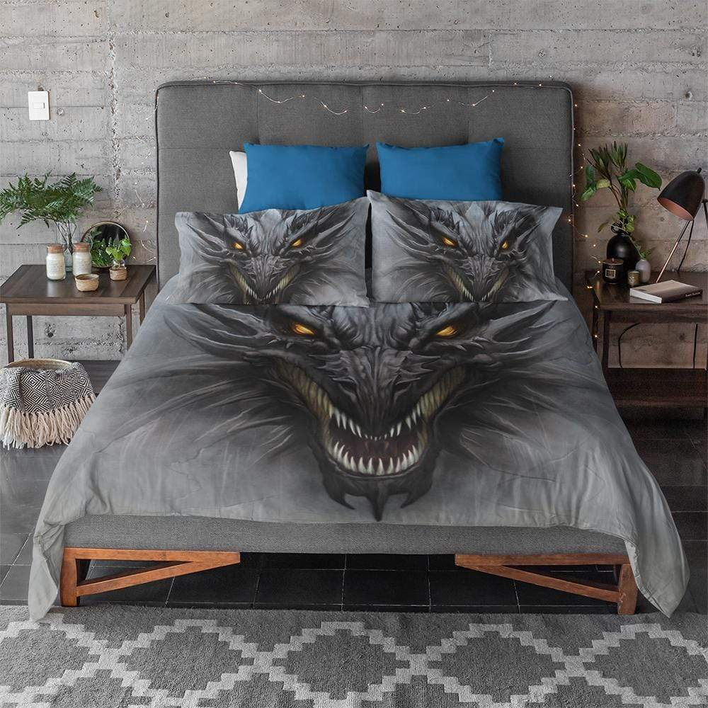 Fantasy Dragon Quilt Cover Set-Fantasy Dragon-Little Squiffy