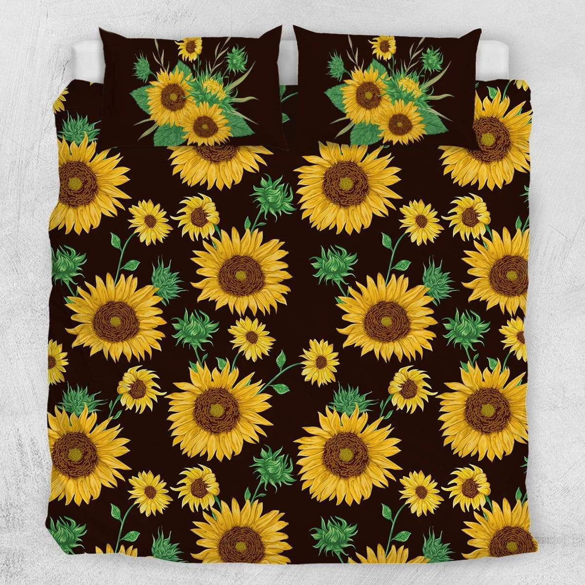 Farmhouse Sunflower Quilt Cover Set-Farmhouse Sunflower-Little Squiffy