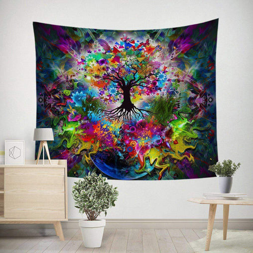 Tree of Life Tapestry-Little Squiffy