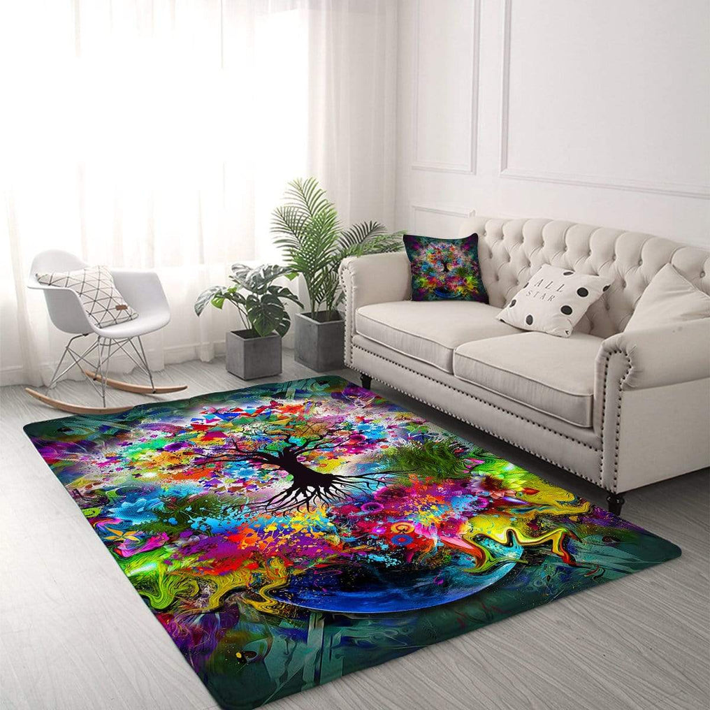 Tree Of Life Rug-Little Squiffy