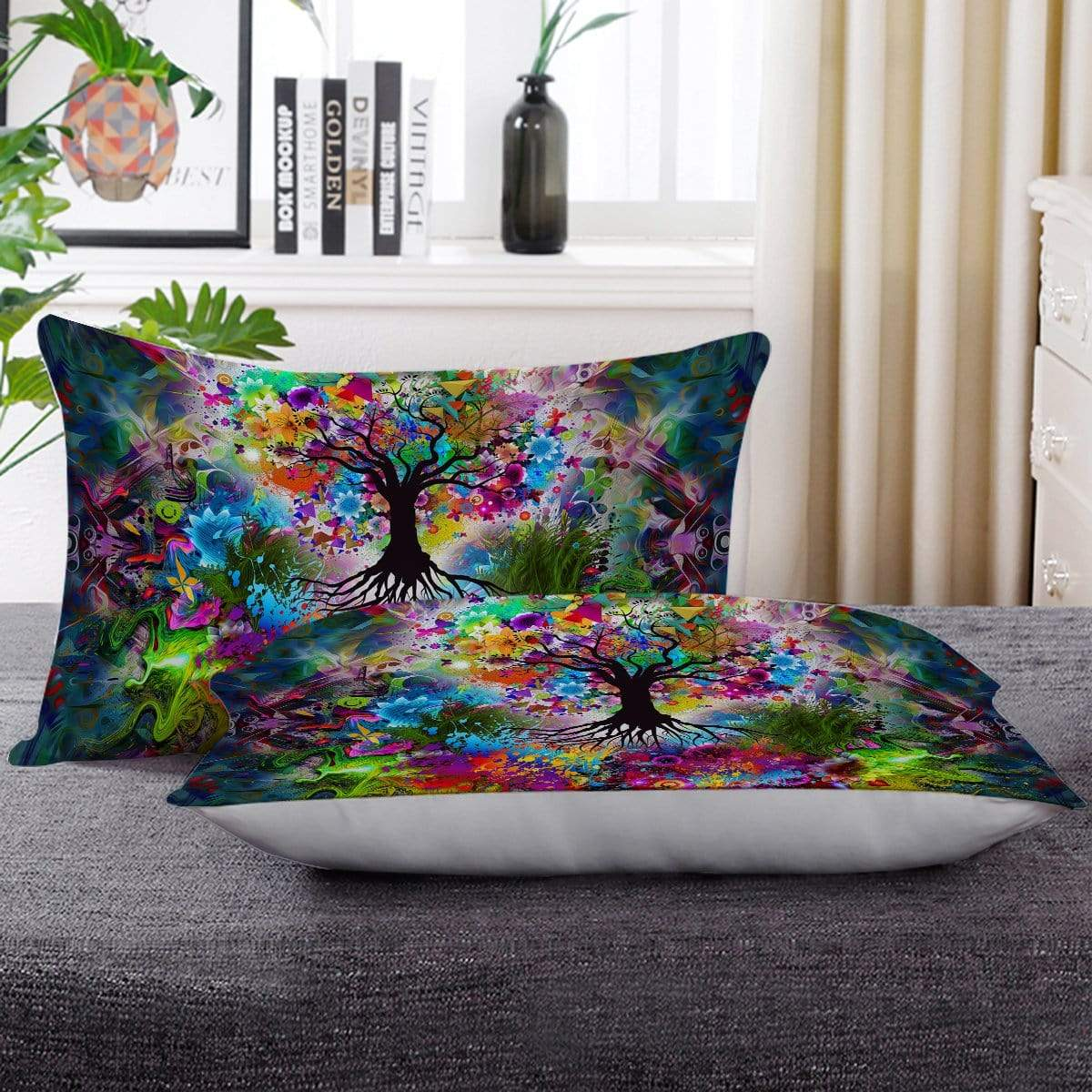 Tree Of Life Pillow Cases-Little Squiffy