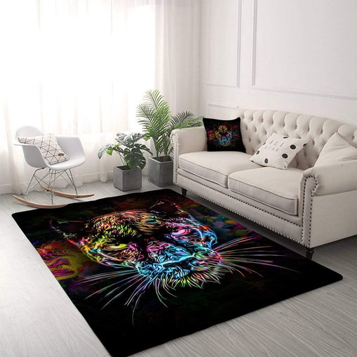 Black Panther Rug-Little Squiffy