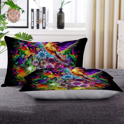 Humming Bird Pillow Cases-Little Squiffy