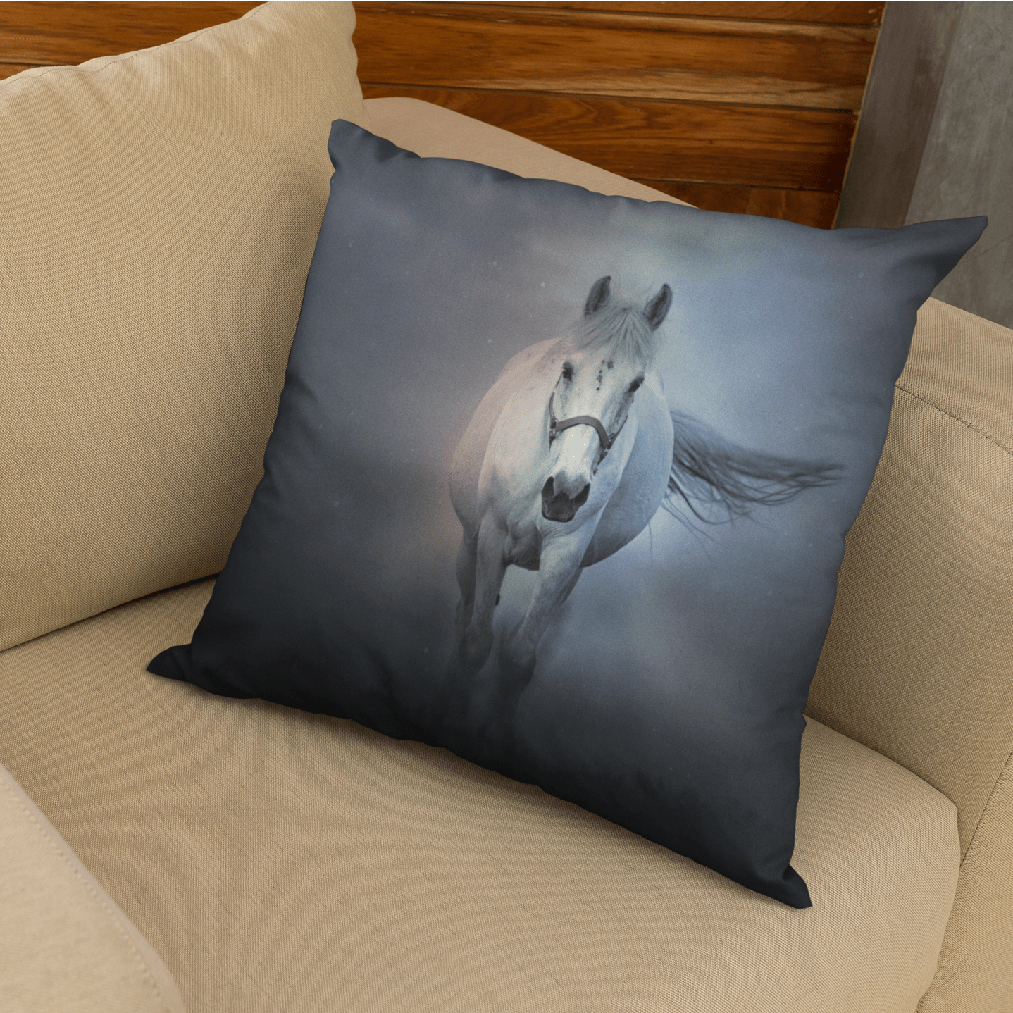 Horse Whisperer Cushion Cover-Horse Whisperer-Little Squiffy