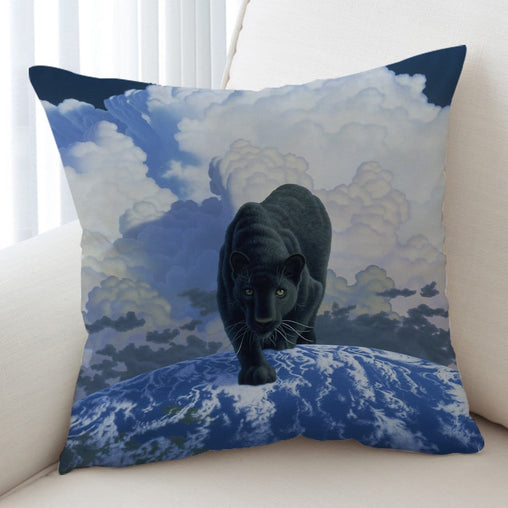 In Search Of His Future Cushion Cover-Schim Schimmel-Little Squiffy
