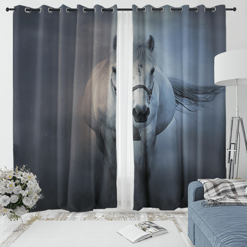 Horse Whisperer Curtain Set-Horse Whisperer-Little Squiffy