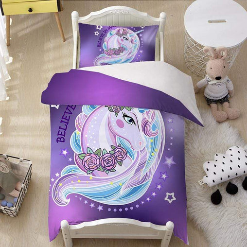Unicorn Magic Quilt Cover Set-Little Squiffy