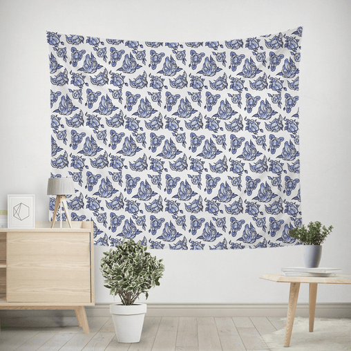 Morning Glory Tapestry-Morning Glory-Little Squiffy