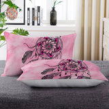 Namaste Dreamcatcher Pink Pillow Cases