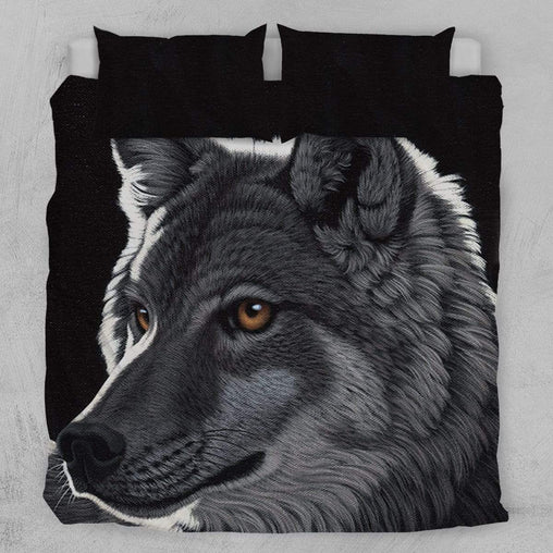 Night Wolf Quilt Cover Set-Schim Schimmel-Little Squiffy