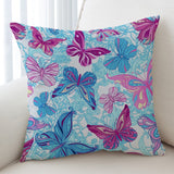 Pastel Butterflies Cushion Cover