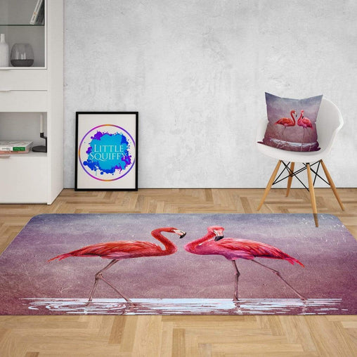 Pink Lake Flamingo Mat