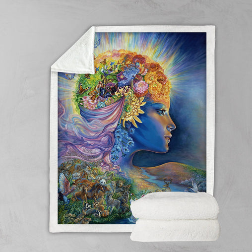 Presence Of Gaia Blanket-Josephine Wall-Little Squiffy