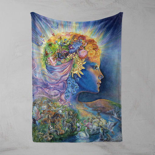Presence Of Gaia Squiffy Minky Blanket-Josephine Wall-Little Squiffy