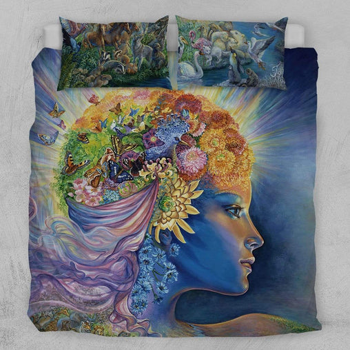 Presence Of Gaia Quilt Cover Set-Josephine Wall-Little Squiffy