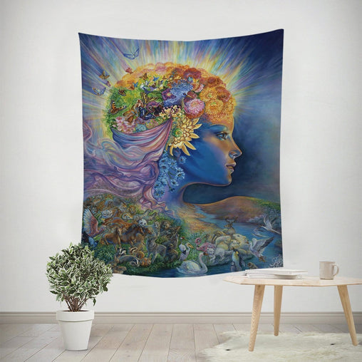 Presence Of Gaia Tapestry-Josephine Wall-Little Squiffy