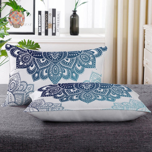 Amalia Mandala Pillow Cases-Little Squiffy