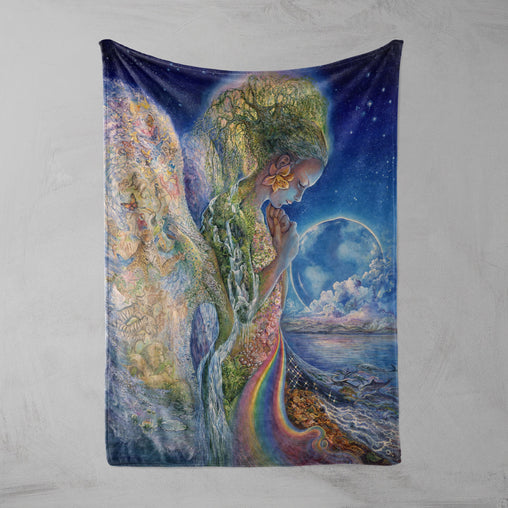 Sadness Of Gaia Squiffy Minky Blanket-Josephine Wall-Little Squiffy