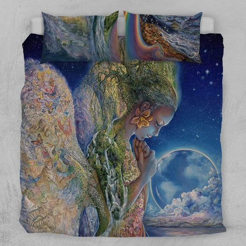 Sadness Of Gaia Quilt Cover Set-Josephine Wall-Little Squiffy