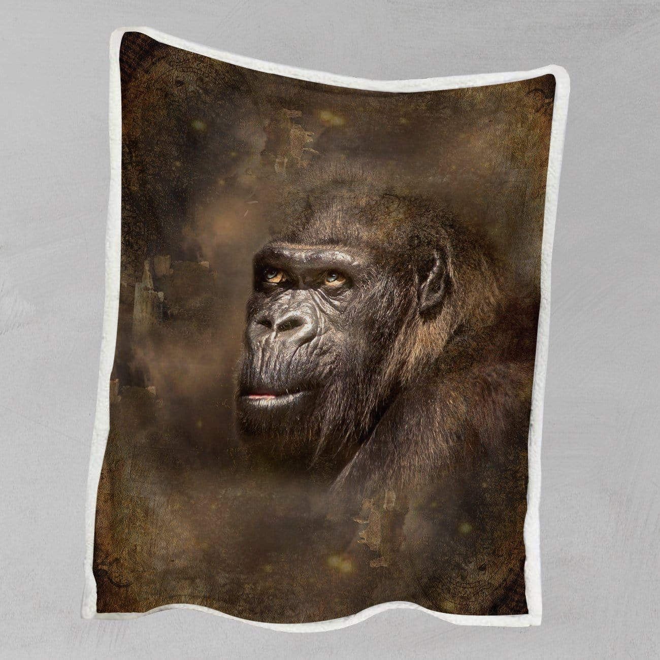 King Kong Gorilla Blanket-King Kong Gorilla-Little Squiffy