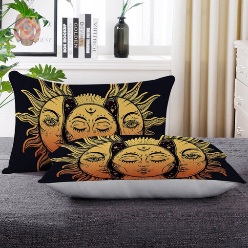 Sun And Moon Pillow Cases-Sun And Moon-Little Squiffy