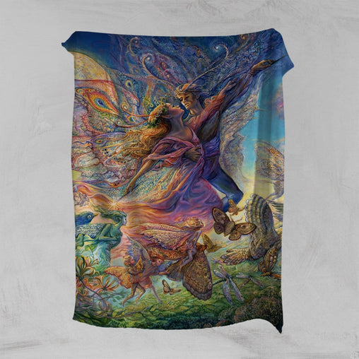 Titania And Oberon Squiffy Minky Blanket-Josephine Wall-Little Squiffy