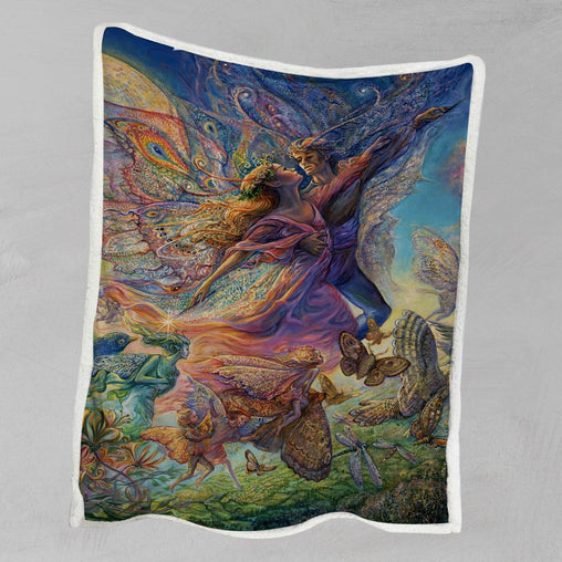 Titania And Oberon Blanket-Josephine Wall-Little Squiffy